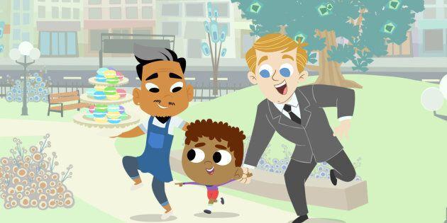 «16 Hudson» est le premier dessin animé destiné à des enfants d'âge