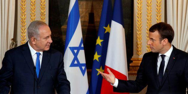 Le premier ministre israélien Benjamin Netanyahu est en visite à Paris pour rencontrer le président français...