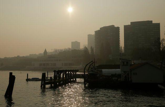 Les feux ont aussi affecté la qualité de l'air dans les grandes villes comme San