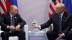 Poutine critique Trump pour sa position sur le statut de
