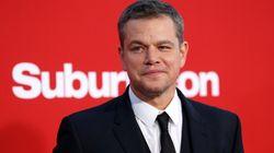 Les propos de Matt Damon sur le harcèlement sexuel sèment de nouveau la