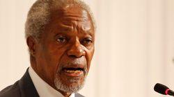«On est dans le pétrin»: Kofi Annan met en garde contre «la démission des
