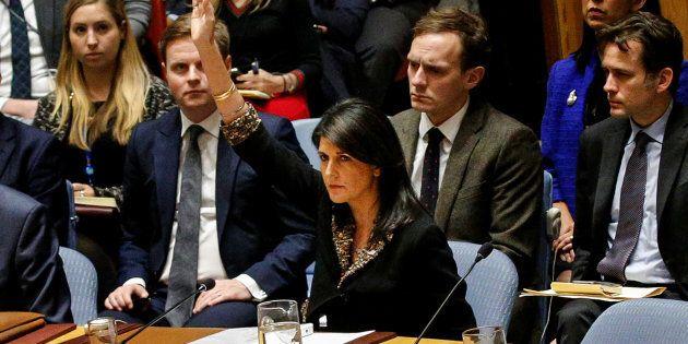 L'ambassadrice américaine aux Nations unies, Nikki