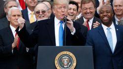 Trump se félicite d'une révision majeure des lois