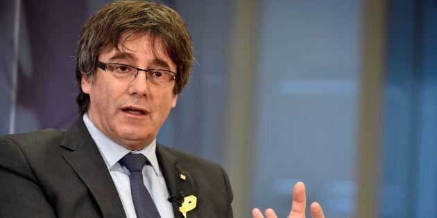L'ancien président de la Catalogne demande à l'Espagne de rétablir son