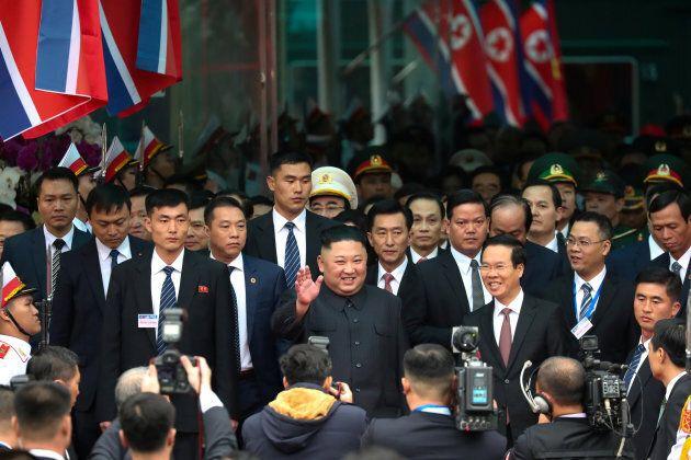 Kim Jong-un est arrivé avant Donald Trump au