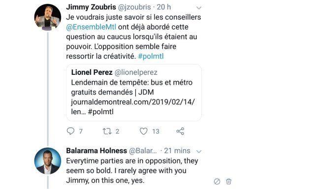 Balarama Holness, ancien Alouette et ancien candidat de Projet Montréal, songe à se présenter contre...