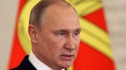 Poutine qualifie l'explosion à Saint-Pétersbourg d'attentat