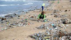 Les déchets envahissent les plages de Bali et ça devient un problème