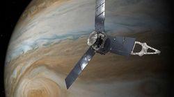 Le vaisseau spatial Juno de la NASA renvoie des images spectaculaires de