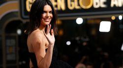 Moquée pour ses boutons d'acné aux Golden Globes, Kendall Jenner répond