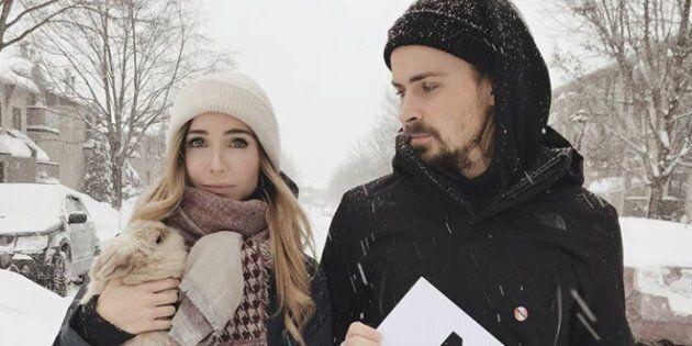Jessie et Pascal-Hugo d'«Occupation Double» vous invitent à manifester avec eux contre l'industrie de...