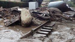 Au moins huit morts dans des coulées de boue en