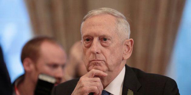 Le ministre américain de la Défense, Jim