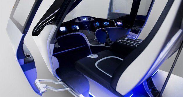 Voici à quoi pourrait ressembler le taxi volant