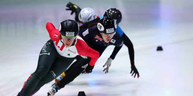 Marianne St-Gelais représentera le Canada en patinage de vitesse courte