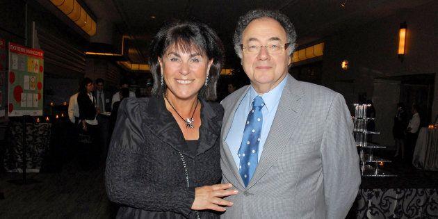 Honey et Barry Sherman en