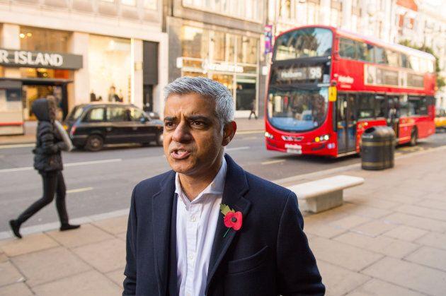 Le maire de Londres, Sadiq