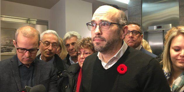 Le chef intérimaire d'«Ensemble Montréal», Lionel