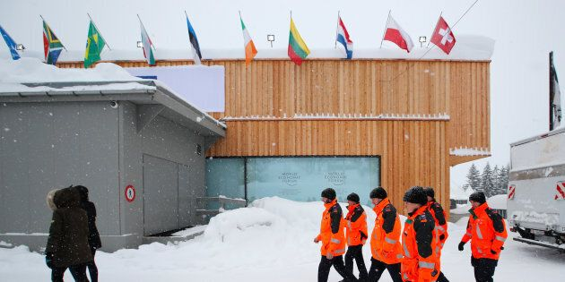 Justin Trudeau à Davos afin de livrer des résultats pour la classe