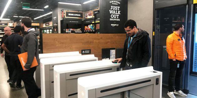 Amazon ouvre une première boutique sans caisse à