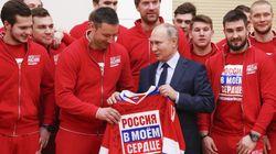 Poutine fait son mea culpa auprès des sportifs
