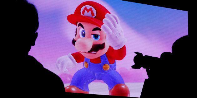 Super Mario sur la Switch de