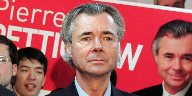 Pierre Pettigrew en janvier