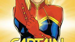 Captain Marvel: Découvrez les premières images qui ont fuité de Brie Larson dans son