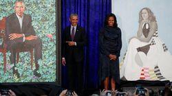 Deux nouveaux portraits colorés du couple Obama exposés à