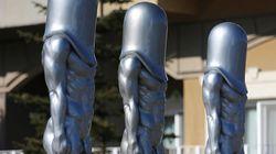 Ces statues phalliques de Pyeongchang valent le