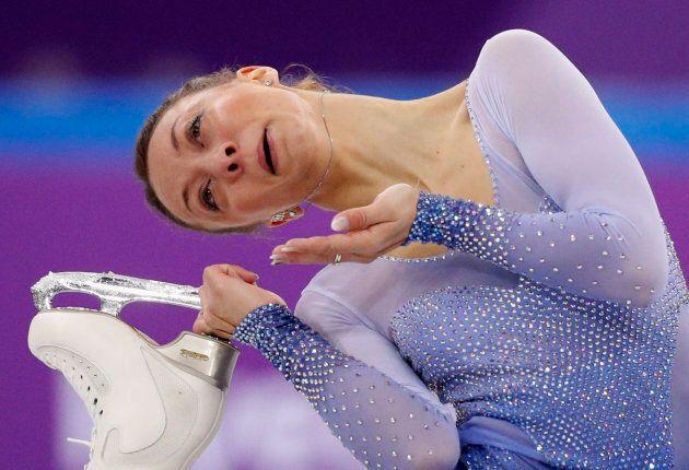 Voici toutes les drôles d'expressions faciales de l'épreuve de patinage artistique aux