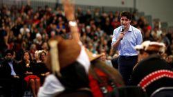Trudeau a prononcé un discours sous les