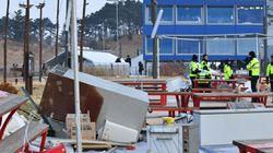 Les vents violents forcent la fermeture du Parc olympique à