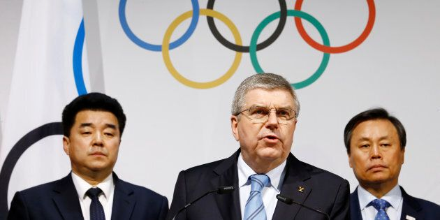 Thomas Bach, président du Comité international olympique