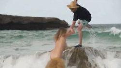 Lorsque Kate Upton chute pendant sa séance photo pour «Sports