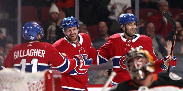 Le Canadien bat les Ducks