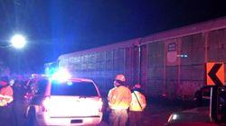 Deux morts et 100 blessés dans un accident de train en Caroline du