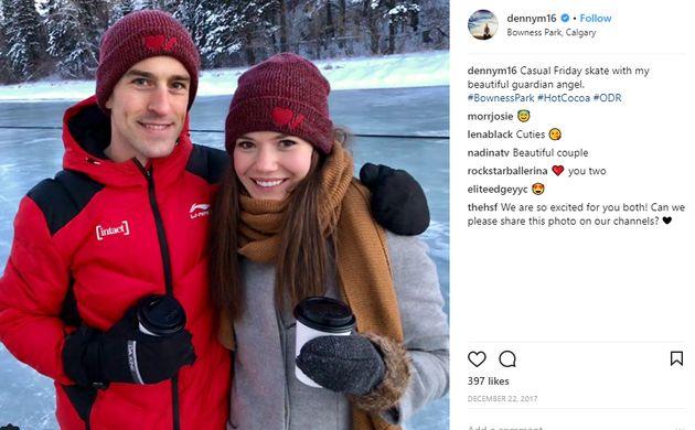 Tous ces patineurs canadiens sont en couple dans la vraie