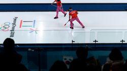 L'équipe de curling de la Norvège avait sorti le grand jeu pour la