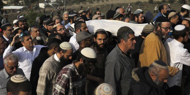 Les funérailles du rabbin Raziel Shevah, 35