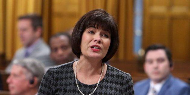 La ministre de la Santé, Ginette Petitpas