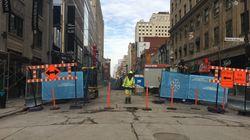 La nouvelle rue Sainte-Catherine ne sera pas
