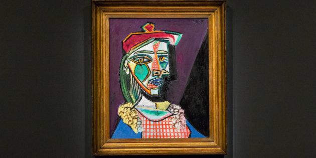 L'ombre de la maîtresse de Picasso sur un