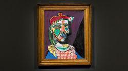 L'ombre de la maîtresse de Picasso sur un tableau aux