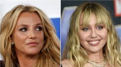 Miley Cyrus Shouts 'Free Britney!' During Memphis