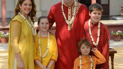 Les photos de la famille Trudeau en Inde ne font pas