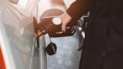 Le prix du litre d'essence ordinaire bondit à