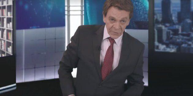 Marc Labrèche s'offre une parodie décapante de Patrice Roy et du