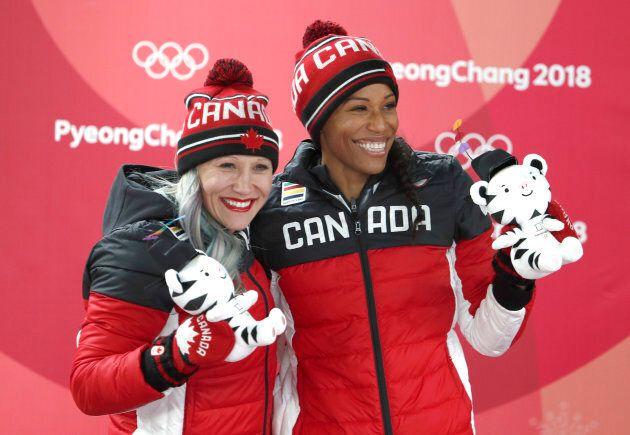Kaillie Humphries et Phylicia George gagnent la médaille de bronze aux Jeux